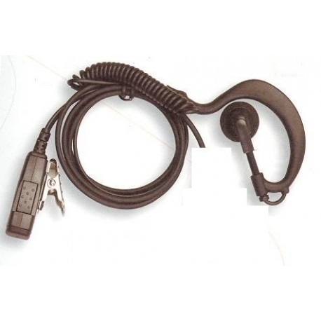 Bodyguard demi contour d'oreille ICOM IC-F50 iC-F51 IC-F60 IC-F61